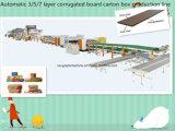Paperboard Corrugated картона высокого качества 3/5/7-Layer делая завод