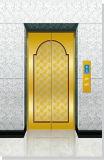 L'elevatore dell'ascensore per persone di FUJI con lo specchio ha inciso l'acciaio inossidabile