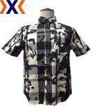 Het Overhemd van mensen met de Afgedrukte Stof van de Plaid Y/D