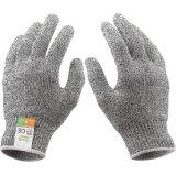 抵抗力がある安全働く手袋の工場熱い販売の防護手袋を切りなさい