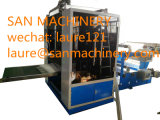 Esquina de paneles de yeso cinta de papel de rebobinar la máquina con tiras de metal