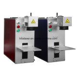 Fibra/CO2/UV/Verde grabadora láser para metal o metaloide