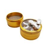 4 parti del metallo della manovella della spezia di schiacciamento di smerigliatrice di erbe della sigaretta (ES-GD-131)