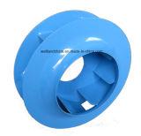 Турбинка вентилятора центробежного нагнетателя высокой эффективности отсталая стальная (500mm)