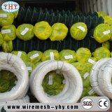 Sportsground를 위한 녹색 PVC 입히는 2inch 6FT 체인 연결 담