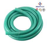 Tubo flessibile flessibile di plastica del condotto di ventilazione del condotto di aria del PVC di bianco grigio