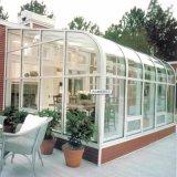 Heph 알루미늄 합금 프레임 물자와 강화 유리 지붕 물자 정원 보온성 일광실