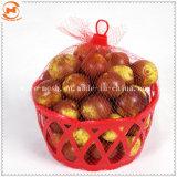 Fruit d'emballage PP Leno sac Mesh