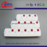 Saso/G-Mark/UL Listed Space Saving 4 Outlets Raw wool Protector Smart Power Strip