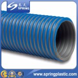 Manguito puesto PVC de alta presión de la succión del agua plana
