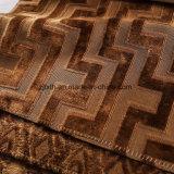 家具製造販売業(YF008-5)のための2018年のブラウンのジャカードによって編まれるビロード