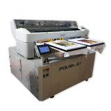Stampante a base piatta multifunzionale di DTG--In linea vendere la stampante automatica piena della scheda del PVC della stampante di 50p CD/DVD
