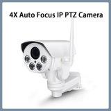 960pネットワーク機密保護4XのズームレンズCMOS防水PTZ IPのカメラ