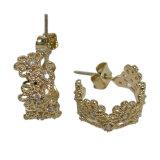 925 Echte Zilveren Oorringen van de hete van de Verkoop Nieuwe van het Ontwerp van de Manier Vrouw van de Juwelen (E6999)