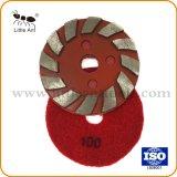 """4 """" /100mm 다이아몬드 가는 디스크 지면 닦는 격판덮개 또는 패드"""