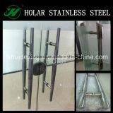 304 het Handvat van de Vorm van de Deur H van het Glas van het roestvrij staal