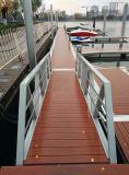 Dique flotante de buena calidad de acero galvanizado de yates Pasillo escalera fabricada en China
