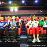 Bewegungs-Kino der Bewegungs-Code-Technologie-4D mit Spezialeffekten
