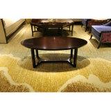 Estrellas de la zona pública de té en el vestíbulo de madera mesa de café (KL C04)