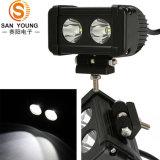 Indicatori luminosi della barra da 3 pollici 20W LED per i camion Motorcycleatv UTV SUV fuori dall'azionamento del 12V 24V