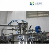 Beber líquidos refrigerantes gaseificados Mono-Bloc Máquina de conservas/ Popup pode a linha de enchimento de refrigerante/pode abastecer e Vedação