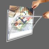 Het LEIDENE Aanplakbord van het Menu met AcrylFrame