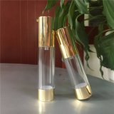 bottiglie cosmetiche senz'aria dell'oro brillante di 15ml 30ml 50ml con la pompa di figura della lozione U