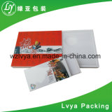 Gran ondulado de color café, té personalizado Caja de cartón de embalaje de regalo