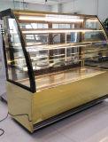 최신 판매 3개의 층 상업적인 케이크 전시 냉장고