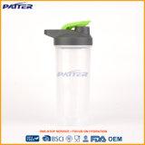 Frasco prático personalizado do plástico do esporte da promoção costume saudável durável