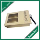 Новая модная изготовленный на заказ коробка GIF бумаги с окном