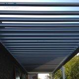 O telhado de fechamento de abertura de lâminas de alumínio impermeáveis