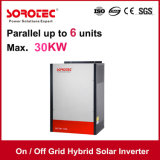inversor solar 1kVA/1000W da grade de ligar/desligar com o controlador solar da carga de MPPT