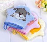 아기를 위한 안전한 물자 견면 벨벳 목욕 장난감