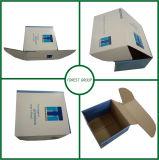 点の紫外線ニスの段ボールボックスが付いているカスタム板紙箱