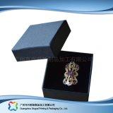 Reloj/joyería/regalo de lujo rectángulo de empaquetado de la visualización de madera/del papel (xc-hbw-003)