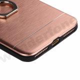 3 в 1 крышке телефона способа PC гальванизируя на iPhone 5 с стойкой кольца