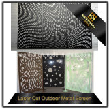 Les prix de gros décoratifs Clôtures de jardin en aluminium découpées au laser et les panneaux de portes
