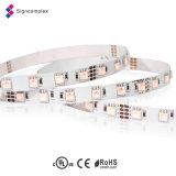 RGB LED decorativa de la cuerda de 12 voltios de iluminación de Navidad, SMD 3528 TIRA DE LEDS