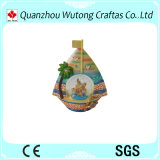 De met de hand geschilderde Bol van het Water van de Herinneringen van de Decoratie van het Huis van de Stijl van de Bol van de Sneeuw van de Ambachten van de Hars Oceaan