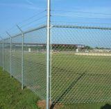 Cerca de ligação em cadeia galvanizada quente