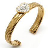 316L de hart Gevormde Armband van het Horloge van de Armband
