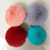 Pompom Keychains новых шариков Pompom шерсти конструкции синтетических дешевый