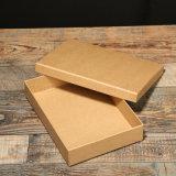 Color marrón Papel Kraft personalizada Mayorista de cajas de embalaje
