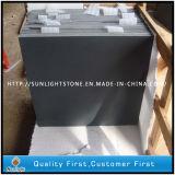 Gezaagde Besnoeiing/het Geslepen Zwarte Basalt van de Oppervlakte voor Straatsteen, Cubestone