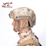 FmaのNvgの台紙及び側面柵のAirsoftの戦術的なヘルメットが付いている速い軍隊Bjのヘルメット