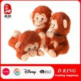 カスタマイズされた漫画動物の柔らかい詰められた猿のプラシ天はおもちゃをからかう