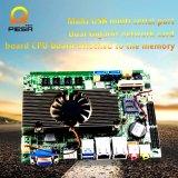 Материнская плата с LAN 2, 8 USB Intel промышленная врезанная, коллекторы расширения 6*COM
