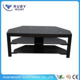 Стойка TV верхнего качества черноты конструкции мебели многофункциональная