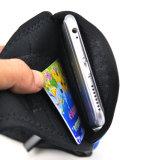 Sac courant sportif de taille d'écran tactile et de prise casque de courroie de mode